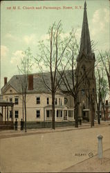 1st M. E. Church and Parsonage