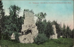 Chimneys, 1817, Old Fort Drummond