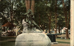 Park showing Statue of General Herkimer