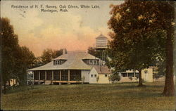 Residence of H. F. Harvey, Oak Glenn, White Lake