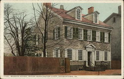 Morris House, where Washington lived