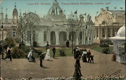 Louis XV Pavilion, Franco-British Exhibition, 1908