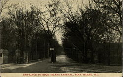 Entrance to Rock Island Arsenal