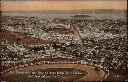 San Francisco and Bay as Seen from Twin Peaks