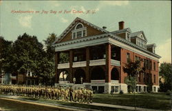 Headquarters on Pay Day, Fort Totten