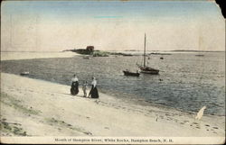 Mouth of Hampton River, White Rocks