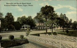 Barracks and South Band Stand, National Soldiers Home