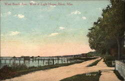 West Beach Ave., West of Light House
