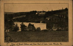 Hotel Clifton and East End of Lake