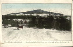 Monadnock Mt. in Winter from Four Corners