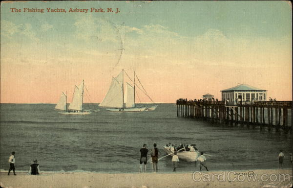 The Fishing Yachts Asbury Park New Jersey
