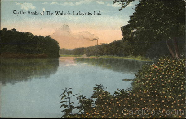 On the banks of the Wabash Lafayette Indiana