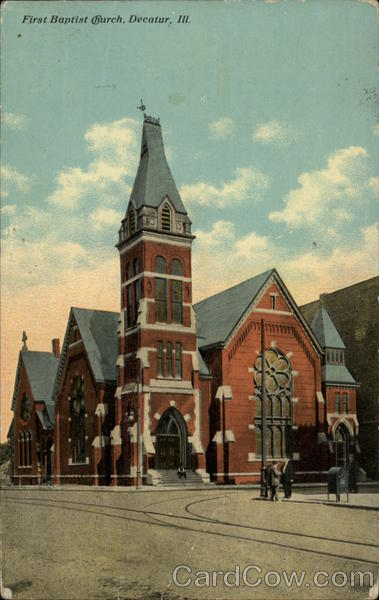 First Baptist Church, Decatur, ILL Illinois