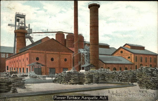 Pioneer Furnace Marquette Michigan