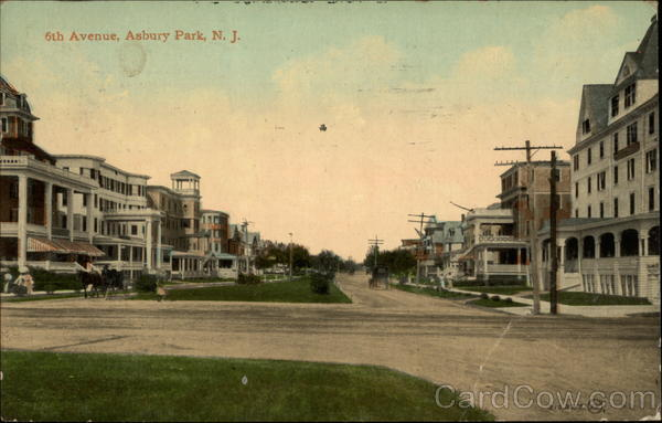 6th Avenue Asbury Park New Jersey