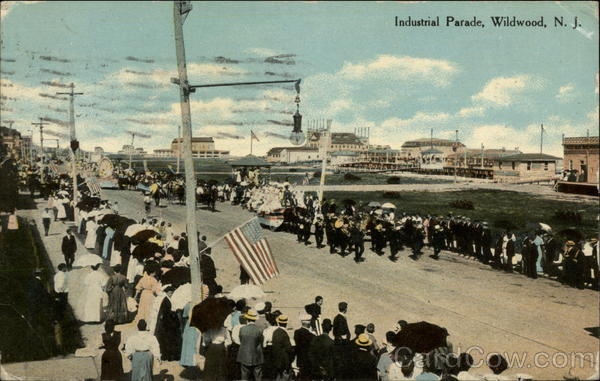 Industrial Parade Wildwood New Jersey