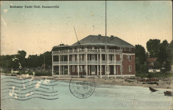 Rochester Yacht Club Summerville New York