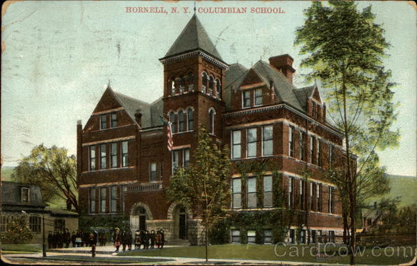 Columbian School Hornell New York
