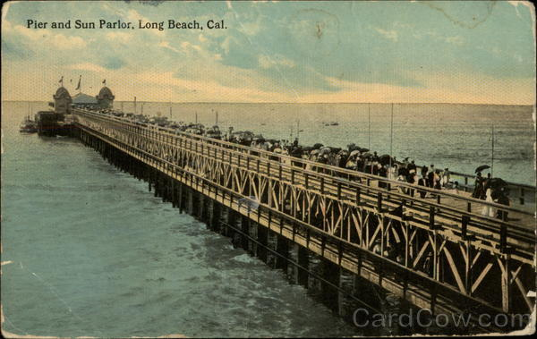 Pier and Sun Parlor Long Beach California