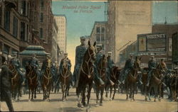 Mounted Police Squad on Parade