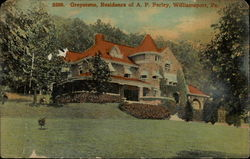 Greystone, Residence of A.P. Perley