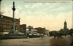 Soldiers' and Sailors' Monument, Public Square