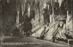 Ball Room, looking toward Miller's Hall, Caverns of Luray