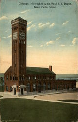 Chicago, Milwaukee & St. Paul RR Depot