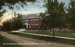 The New Hospital, Indiana State Soldiers Home