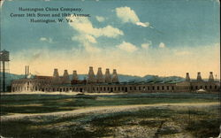 Huntington China Company, corner 16th Street and 10th Avenue