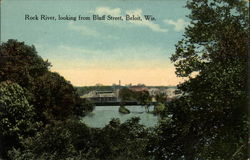 Rock River, looking from Bluff Street