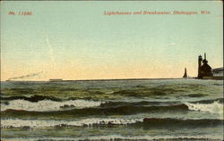 Lighthouses and Breakwater