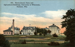 Horticultural, Dairy and Agricultural Buildings, University of Wisconsin
