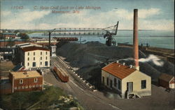 C. Reiss Coal Dock on Lake Michigan