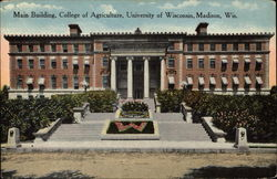 Main Building, College of Agriculture, University of Wisconsin