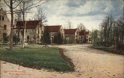 Officers Quarters Postcard