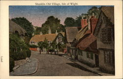Shanklin Old Village, Isle of Wight Postcard