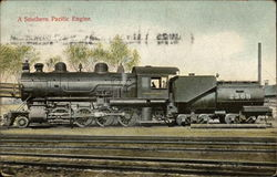 A Southern Pacific Engine