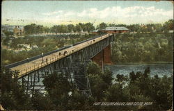 Fort Snelling Bridge Postcard