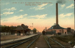 T&OG Depot and Electric Lighting Plant