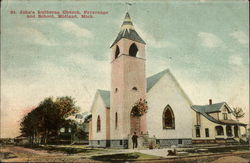 St. John's Lutheran Church, Parsonage and School