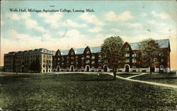 Wells Hall, Michigan Agriculture College