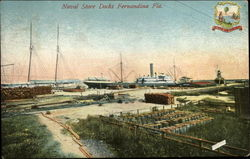 Naval Store Yards