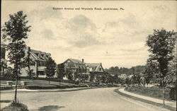 Summit Avenue and Wyncote Road