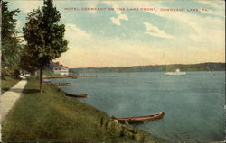 Hotel Conneaut on the Lake front