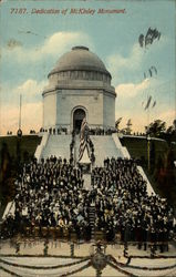 Dedication of McKinley Monument