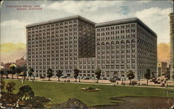 Congress Hotel and Annex Postcard