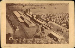 Plant of the Dewey Portland Cement Co