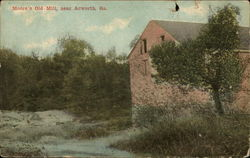Moore's Old Mill Postcard