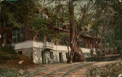 The Avenue Tavern and Mt. Lowe Railway